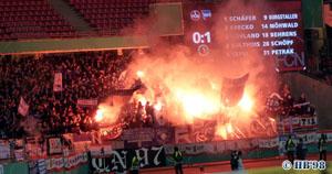 Pokal Spiel in Nürnberg
