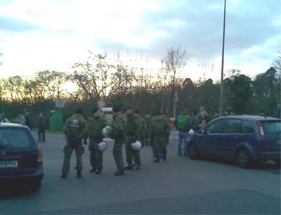 Vorfälle Hertha BSC – Arminia Bielefeld