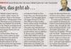 15.03.2009 - Berliner Morgenpost