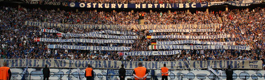 Football Supporters in Europe: Never give up the fight!