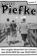 Kleener Piefke - Nummer 11